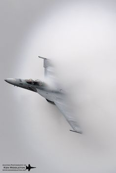 Breaking Through: F-18 by Ken Middleton