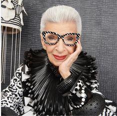 Glam Slam, University Of Texas, Cat Eye Glasses, Prabal Gurung, Fashion News, Moda Fashion, Signature Style, Fashion Prints, Iris Apfel