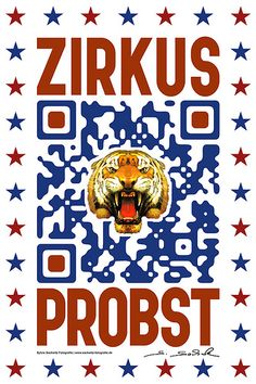 QR-Code   iTservice + www.sackwitz.com für    www.zirkusprobst.de
