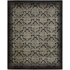 Found it at Wayfair - Chambord Black/Gray Area Rug