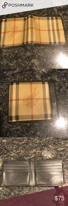 Vintage Burberry billfold Wow! Just found this in my closet! Great condition- Burberry Bags Wallets
