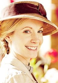 Anna, Downton Abbey..!! Her, bates, and William are my favorites!! I really want bates and Anna to be together...
