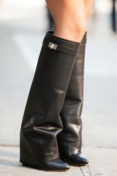 Givenchy boots- too much or too cool