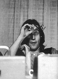 .John is blind as a bat..