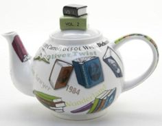 New boxed Paul Cardew book lovers NOVEL-TEA large 6 cup 48oz novelty teapot | eBay