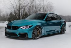 BMW With Subtle Mods Shines In Atlantis Blue Paintjob BMW mit subtilen Mods erstrahlt in Atlan Bmw M3, 3 Bmw, Atlantis, Bmw 3 Series, Latest Cars, Bmw Cars, Car Photos, Car Pics, Amazing Cars
