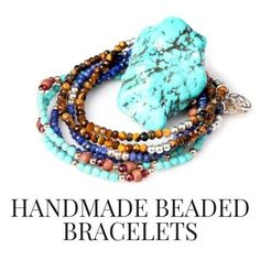 Discover more charming handmade beaded bracelets at Gosia Orlowska Designs online store Moon Jewelry, Beaded Jewelry, Beaded Necklace, Beaded Bracelets, Silver Jewelry, Leather Bracelets, Silver Bracelets, Gold Jewellery, Diy Jewelry