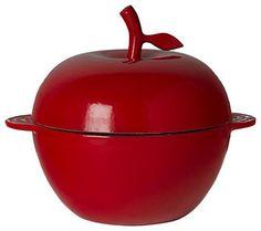 Cast Iron Apple Cocotte