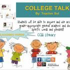 College Talk!. Having a strong vocabulary is critical to achieving success in College. I each give each these 50- academic vocabulary words to my students for the...