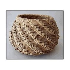 The Complete Pine Needle Basket Kit (makes one 4in. - 6in. Basket)