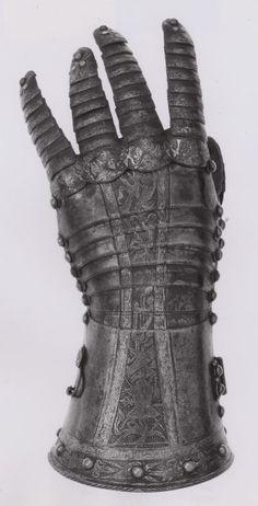 Fingered Gauntlet for the Left Hand, c. 1570