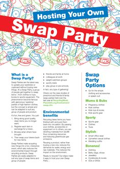 Hosting a Swap Party