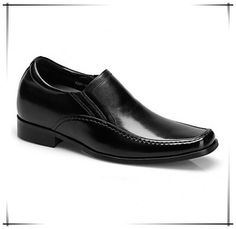 2b6ae1c7c062 2016 New Men Genuine Leather Oxford Business Dress Shoes Height Increasing  7.5CM 2.95inch