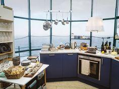 Petra-keittiö yläilmoissa meren äärellä. | Petra-keittiöt | #size0kitchen