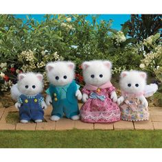 | Sylvanian Families - Persian Cat Family