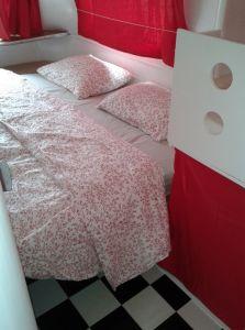 Beds beds beds ... 5 beds in a tiny caravan!