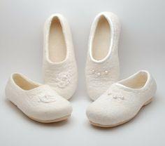Rasos veltinis: felted slippers