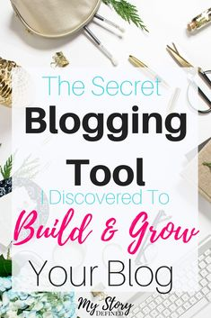 Want to grow your blog? I discovered this best kept secret blogging tool that helps you build and grow your blog. Find out what it is