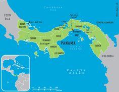 mapa panama dicas de viagem blog lalarebelo