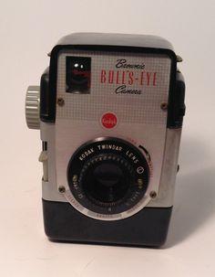 Kodak Brownie BullsEye Film Camera by TroutsAntiques on Etsy, $25.00