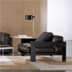 Minotti Alison Black Armchair - Style # AlisonBlackArm, Modern Armchairs | Contemporary Arm Chairs | SwitchModern 5675$