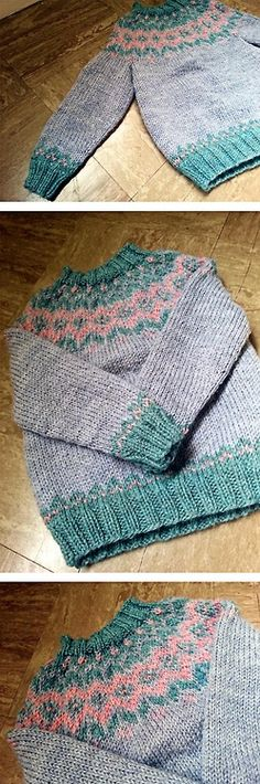 Toddler Icelandic sweater