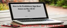 If you don't know How to Fix Prohibitory Sign Boot Issues on Mac OS X read this blog page to get right steps. The whole process is described by the experts with best methods to solve Prohibitory Sign Boot Issues on Mac. Or you can call on 1800-250-9055 to get online support for Mac OS X related issues.