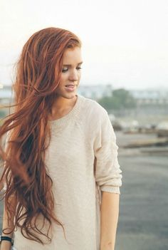 Freckled-Fox.com has tons of tutorials for loong hair. Long redhair. Ginger. Hairstyle. To copy.