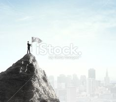 businessman standing with flag Royalty Free Stock Photo Flag Photo, Image Now, Royalty Free Stock Photos