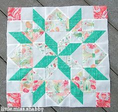 #3 of 3: Supersized Star of Bethlehem Quilt Block: can make at least 2 or 3 of each for a blanket