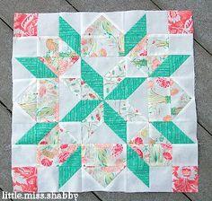 Supersized Star of Bethlehem Quilt Block