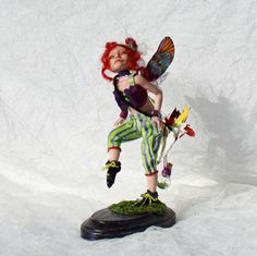 Poppy, OOAK art doll by Sherrie Neilson Art Dolls, Poppy, Poppies
