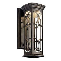 Franceasi Dark Sky Olde Bronze One-Light LED 14.5-Inch Wall Mount