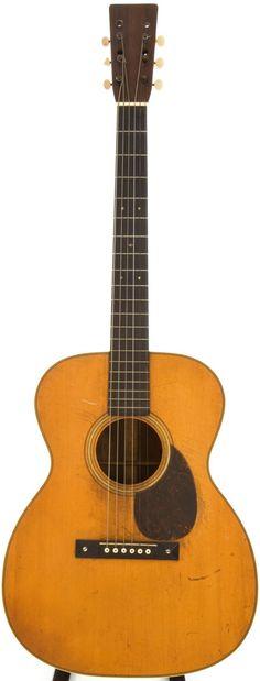 1930 Martin OM-28 Natural Acoustic Guitar, Serial # 41937.