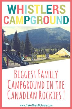 The best family camping in Jasper National Park is at Whistlers Campground. If you're planning a road trip through the Canadian Rockies in this should definitely be on your bucket list! Ski Banff, Travel Trailer Camping, Camping Ideas, Best Campgrounds, Camping Places, Mountain Photography, Canadian Rockies, Family Adventure, Whistler
