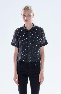 Elk | Dot to Dot Spots Screen Printed Shirt