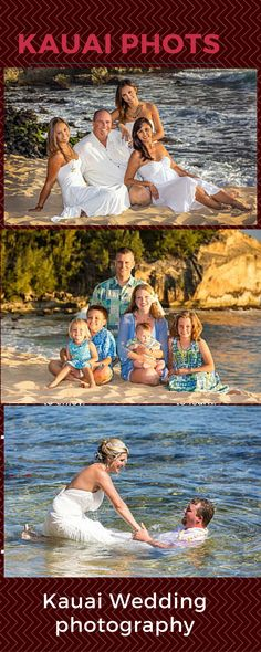 Kauaiphoto.com specializes in beautiful Kauai family photography and portraits of all sizes. Nick Galante is a professional with experience of more than 25 years. You will be taken to best location of this area or any place of your choice.