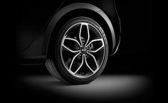 """2015 Kia Forte5 - 18"""" alloy wheels."""