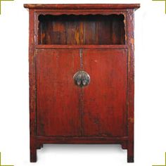 Antique Chinese cabinet for stunning storage.
