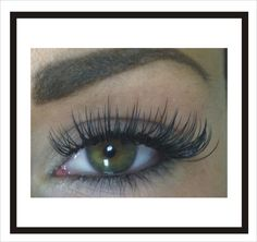 Dramatic look. Only at Venus Eyelash Extensions