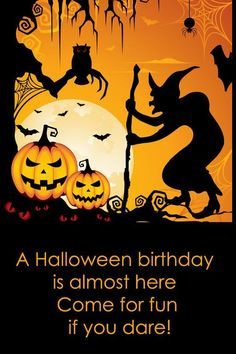 17 Best images about HALLOWEEN BIRTHDAY POSTS on Pinterest