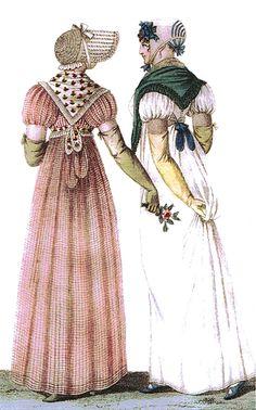 Promenade Dresses, 1807.