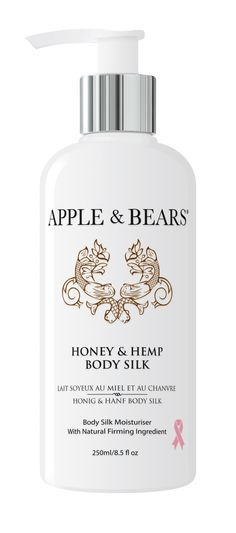 Nourishing Honey delivers power packed nutrients that hydrate your skin, while Hemp's concentration of Omega 3, 6 and 9 detoxify and soothes. Light and non-greasy, this silky, smooth Body Silk nourishes and renews, while the natural firming ingredient actively work to tighten and firm your skin.