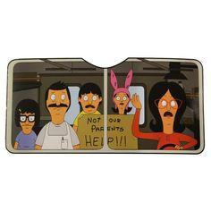 Shop for Bob's Burgers Car Sun Shade - multi. Dark Humor Jokes, Stupid Funny Memes, Funny Laugh, Wtf Funny, Funny Tweets, Funny Cute, Hilarious, Bobs Burgers Funny, Funny Images