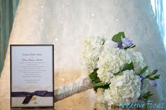 Elegant purple wedding invitations by Fort Lauderdale Invitations - Visit our website at www.fortlauderdal... for ordering information! Fort Lauderdale * Hollywood * Miami * Palm Beaches * We Ship Worldwide