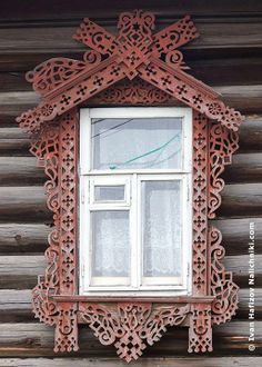 Russian traditional window grace (nalichnik). Photo by Ivan Hafizov