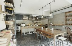 Down the Stairs: A Staff Canteen and Cafe in Tokyo from Arts & Science