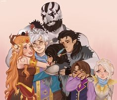 Critical Role Fan Art Gallery – The Roll of The Dice | Geek and Sundry