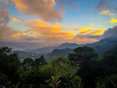Sunset in Sagada, Philippines