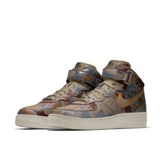 innovative design c4a7b f7968 Nike Air Force 1 Mid iD Shoe custom design made by strey studio (click to  buy)